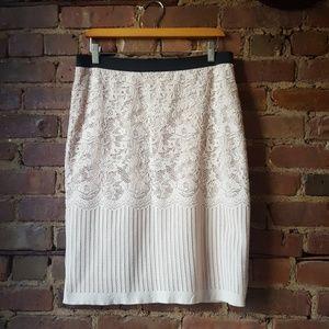 H&M Super Soft Lace Knit skirt